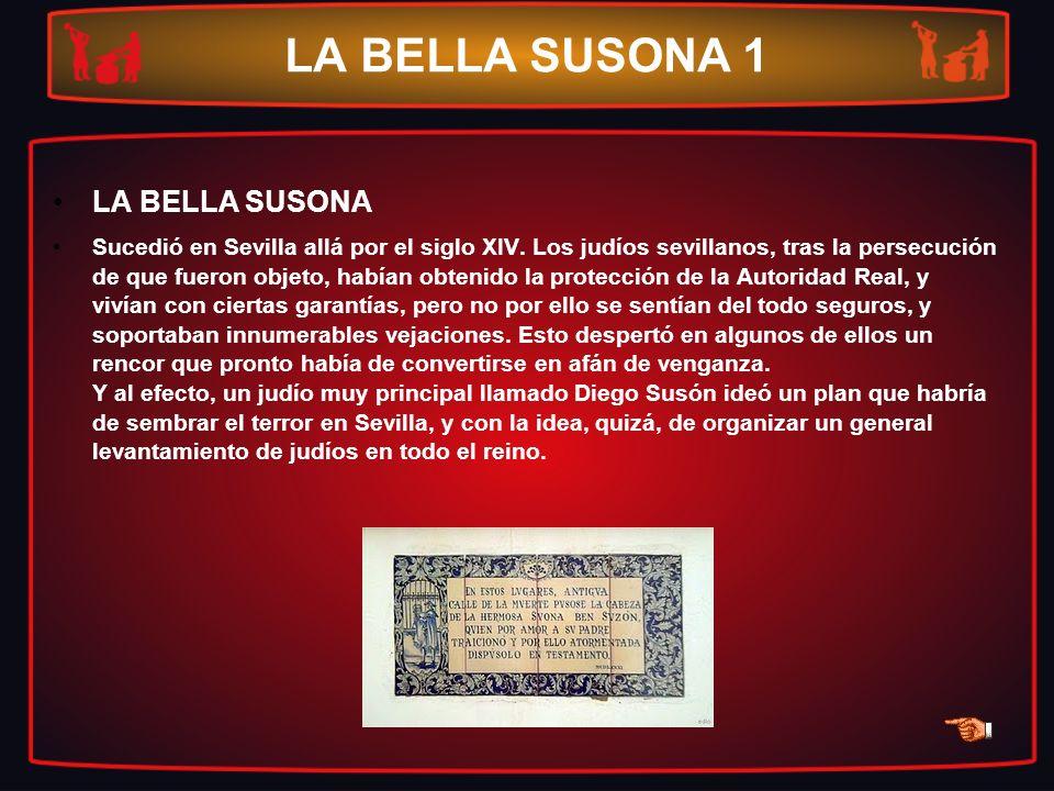 LA BELLA SUSONA 1 LA BELLA SUSONA
