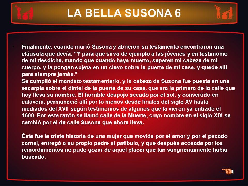 LA BELLA SUSONA 6