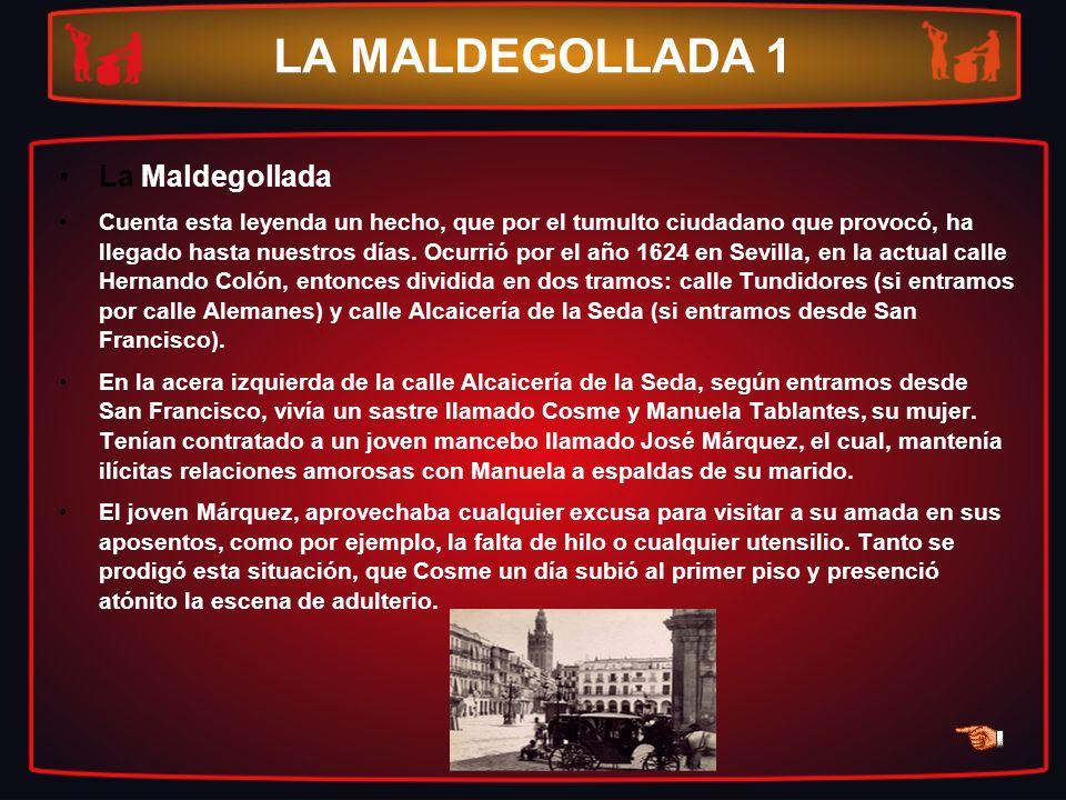 LA MALDEGOLLADA 1 La Maldegollada