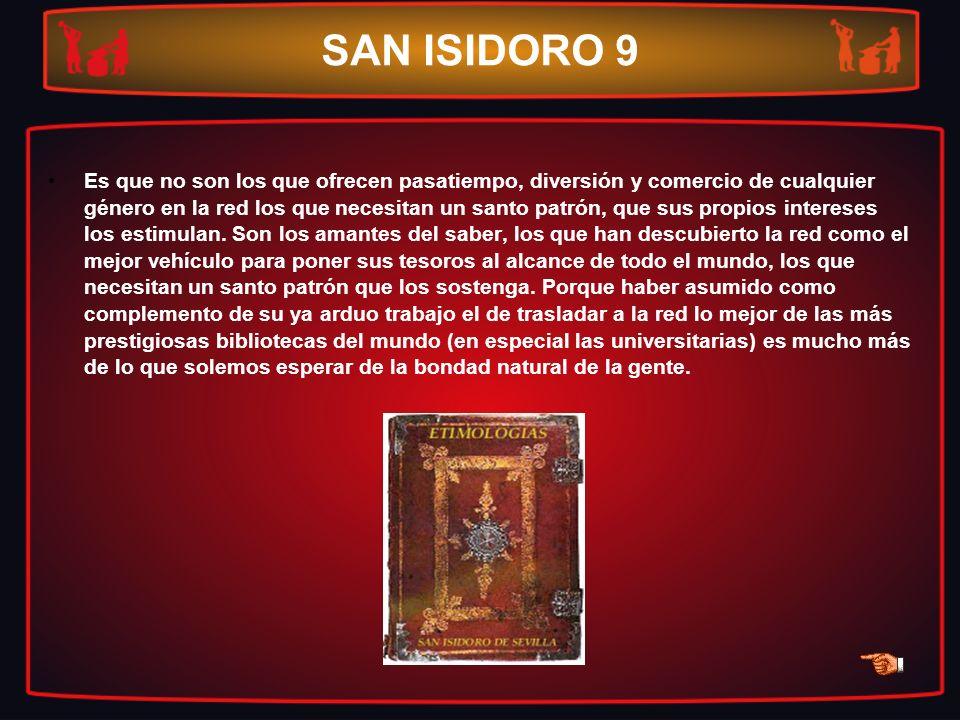 SAN ISIDORO 9