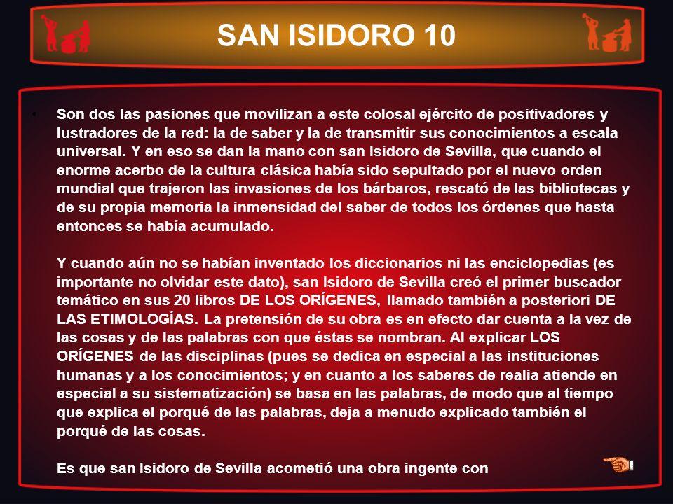SAN ISIDORO 10