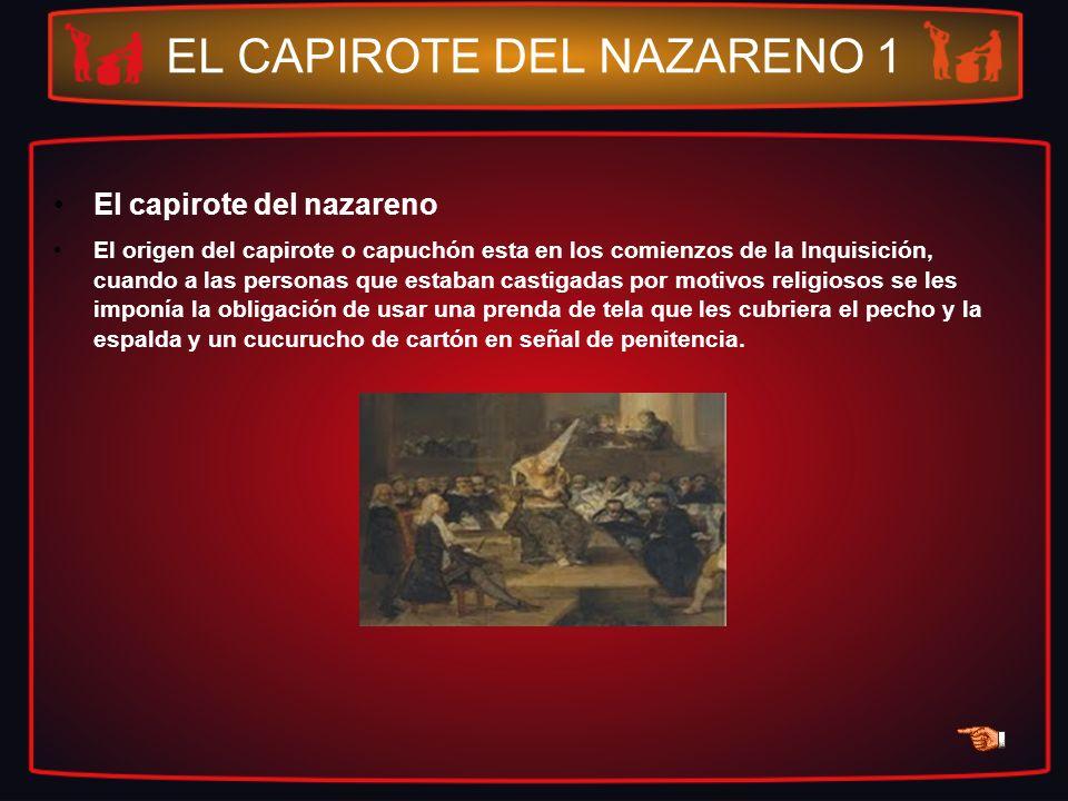 EL CAPIROTE DEL NAZARENO 1