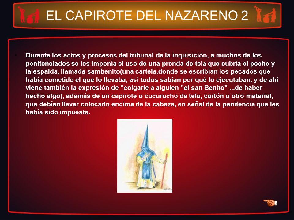 EL CAPIROTE DEL NAZARENO 2