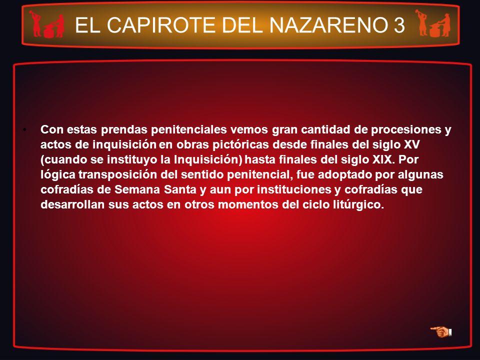 EL CAPIROTE DEL NAZARENO 3