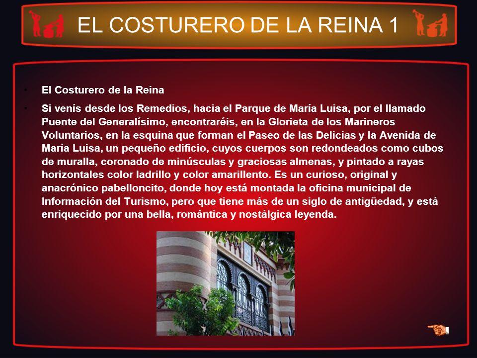 EL COSTURERO DE LA REINA 1