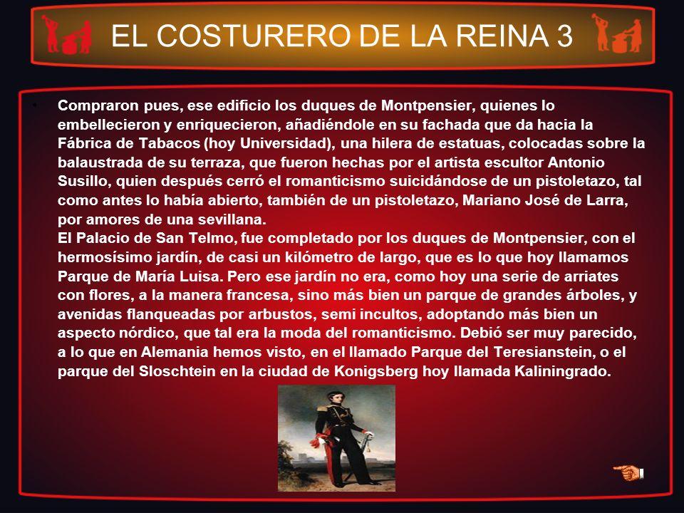 EL COSTURERO DE LA REINA 3