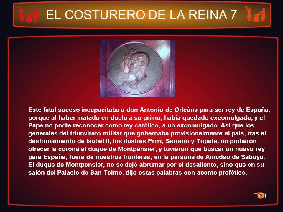 EL COSTURERO DE LA REINA 7