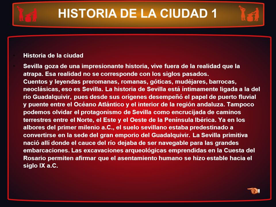 HISTORIA DE LA CIUDAD 1 Historia de la ciudad