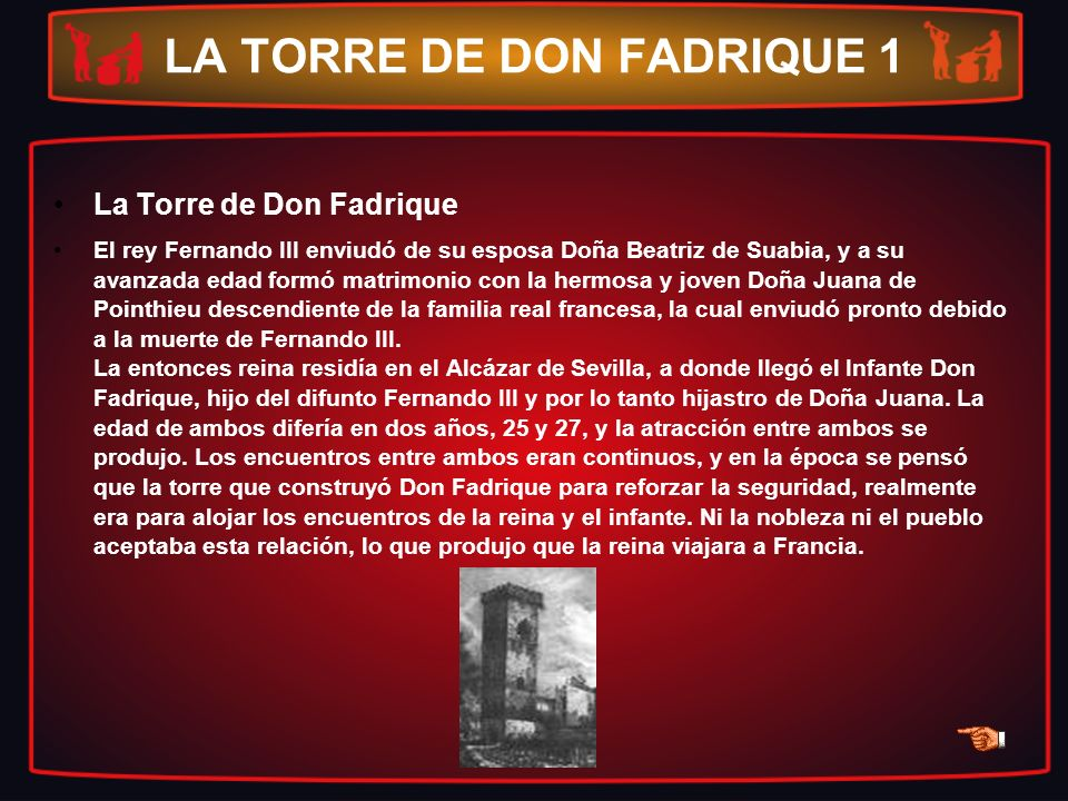 LA TORRE DE DON FADRIQUE 1