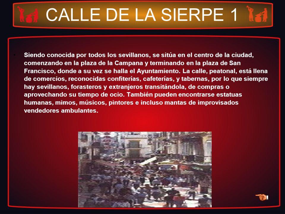 CALLE DE LA SIERPE 1