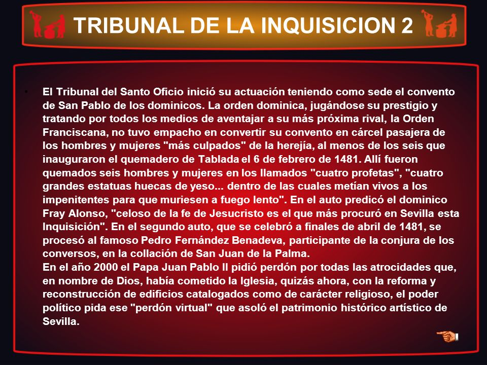 TRIBUNAL DE LA INQUISICION 2