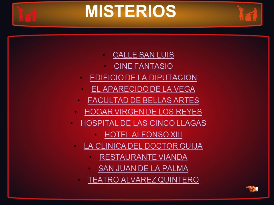 MISTERIOS CALLE SAN LUIS CINE FANTASIO EDIFICIO DE LA DIPUTACION