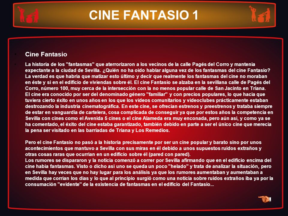 CINE FANTASIO 1 Cine Fantasio
