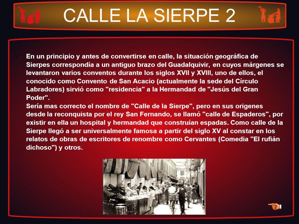 CALLE LA SIERPE 2