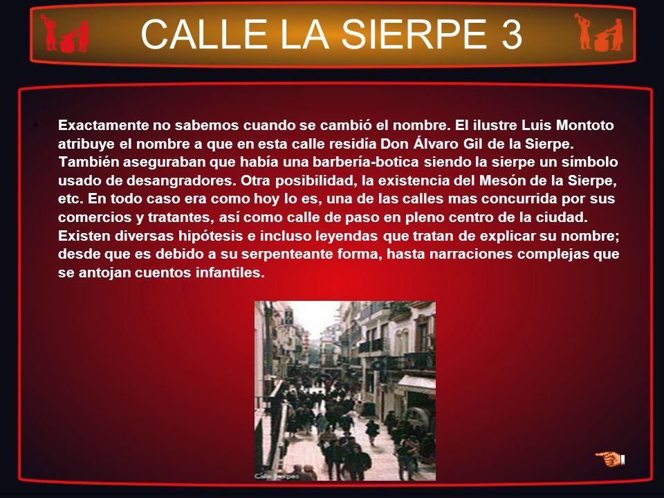 CALLE LA SIERPE 3