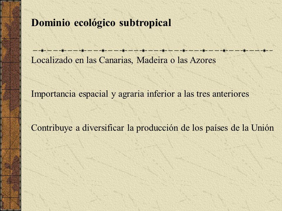 Dominio ecológico subtropical