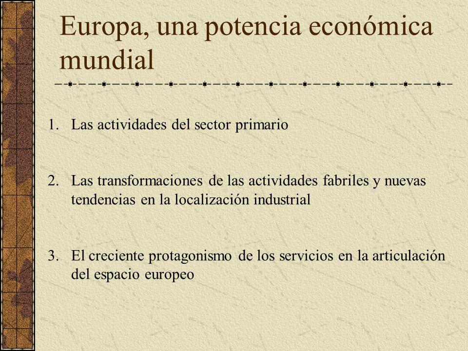 Europa, una potencia económica mundial