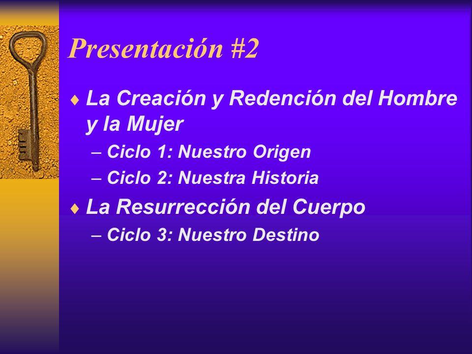 Presentación #2 La Creación y Redención del Hombre y la Mujer