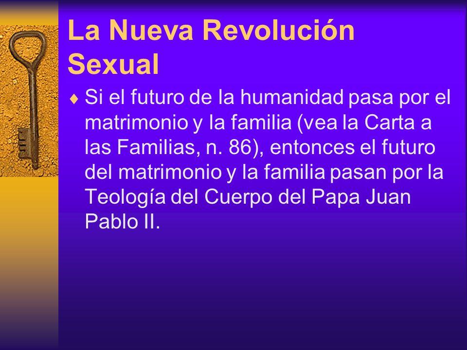 La Nueva Revolución Sexual