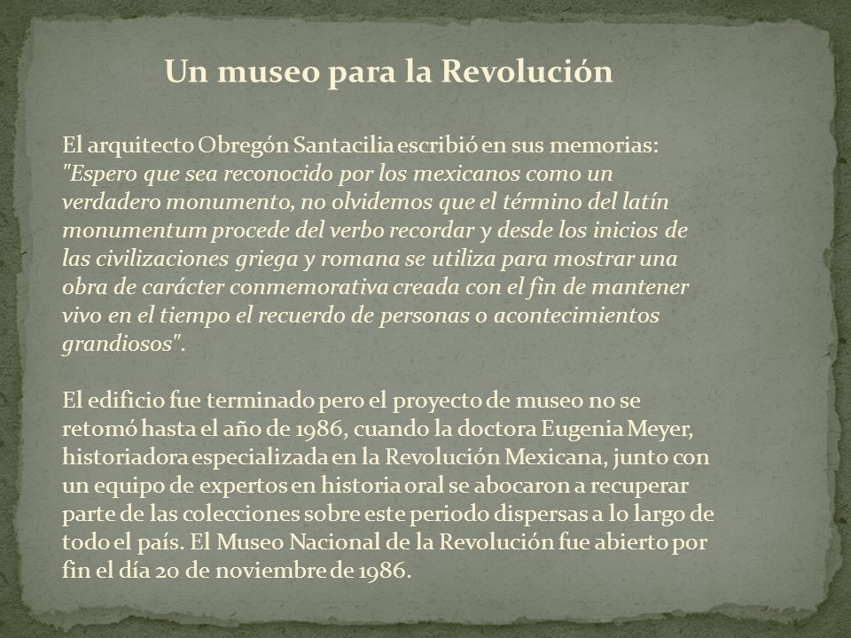 Un museo para la Revolución