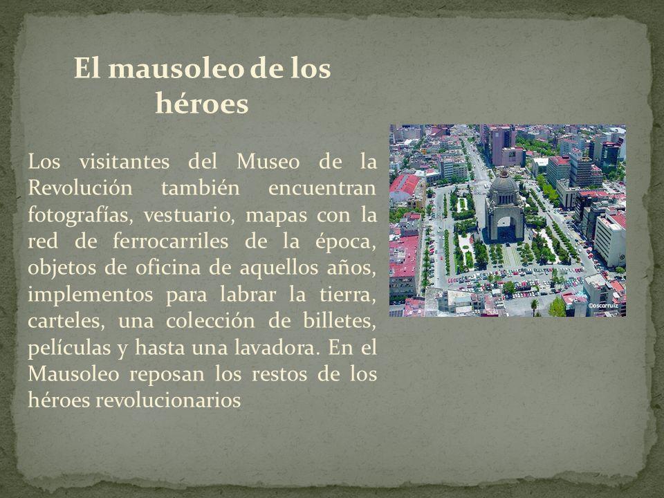 El mausoleo de los héroes