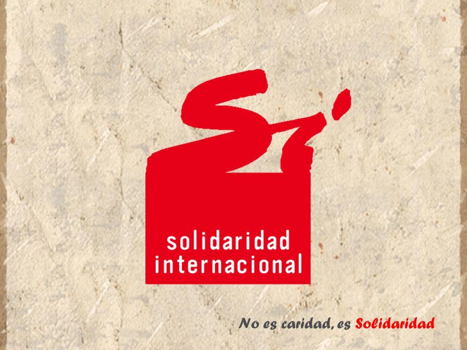 No es caridad, es Solidaridad