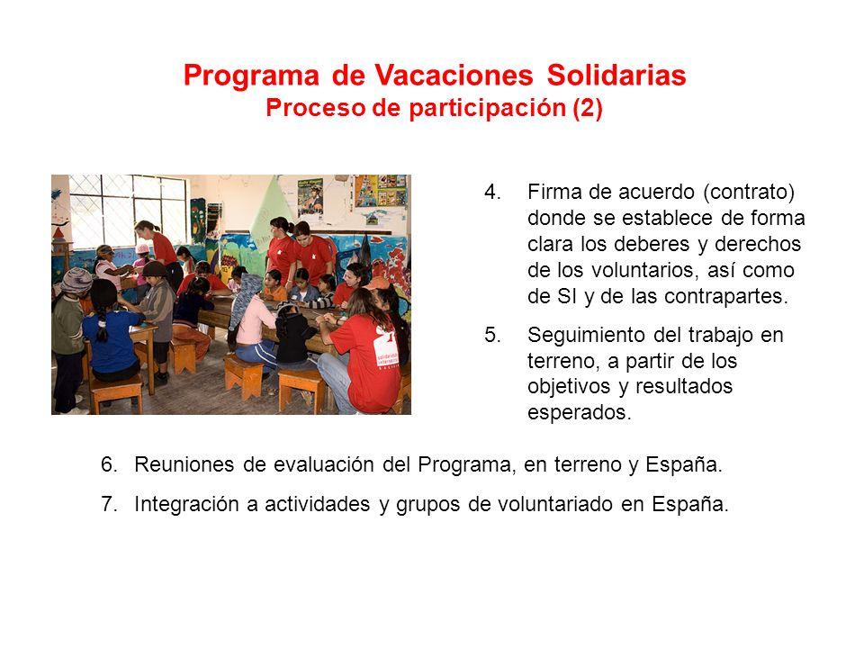 Programa de Vacaciones Solidarias Proceso de participación (2)