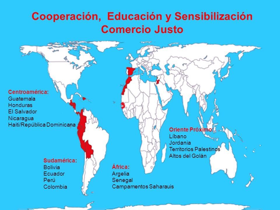 Cooperación, Educación y Sensibilización Comercio Justo