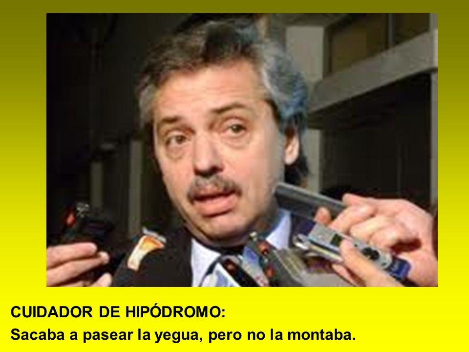 CUIDADOR DE HIPÓDROMO:
