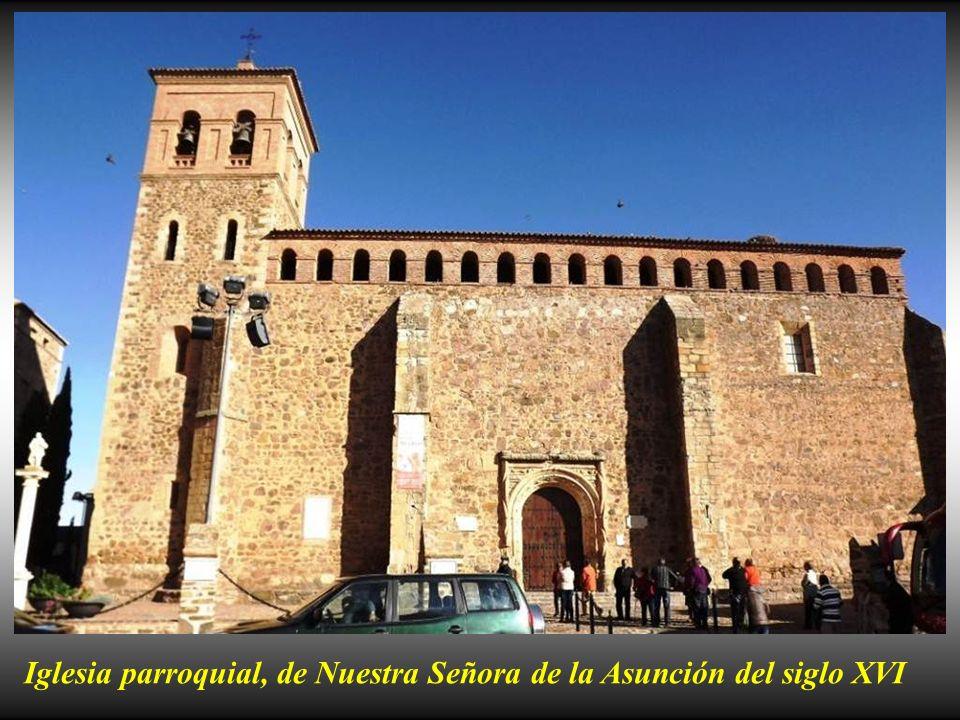Iglesia parroquial, de Nuestra Señora de la Asunción del siglo XVI