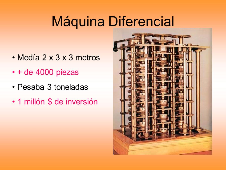 Máquina Diferencial Medía 2 x 3 x 3 metros + de 4000 piezas