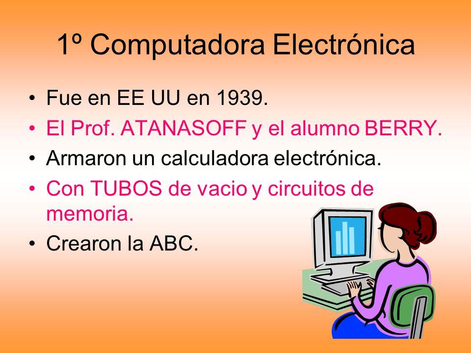 1º Computadora Electrónica