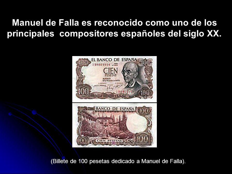 Manuel de Falla es reconocido como uno de los principales compositores españoles del siglo XX.