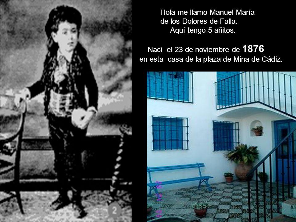 Hola me llamo Manuel María