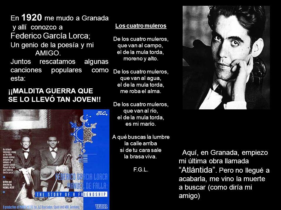 Federico García Lorca;