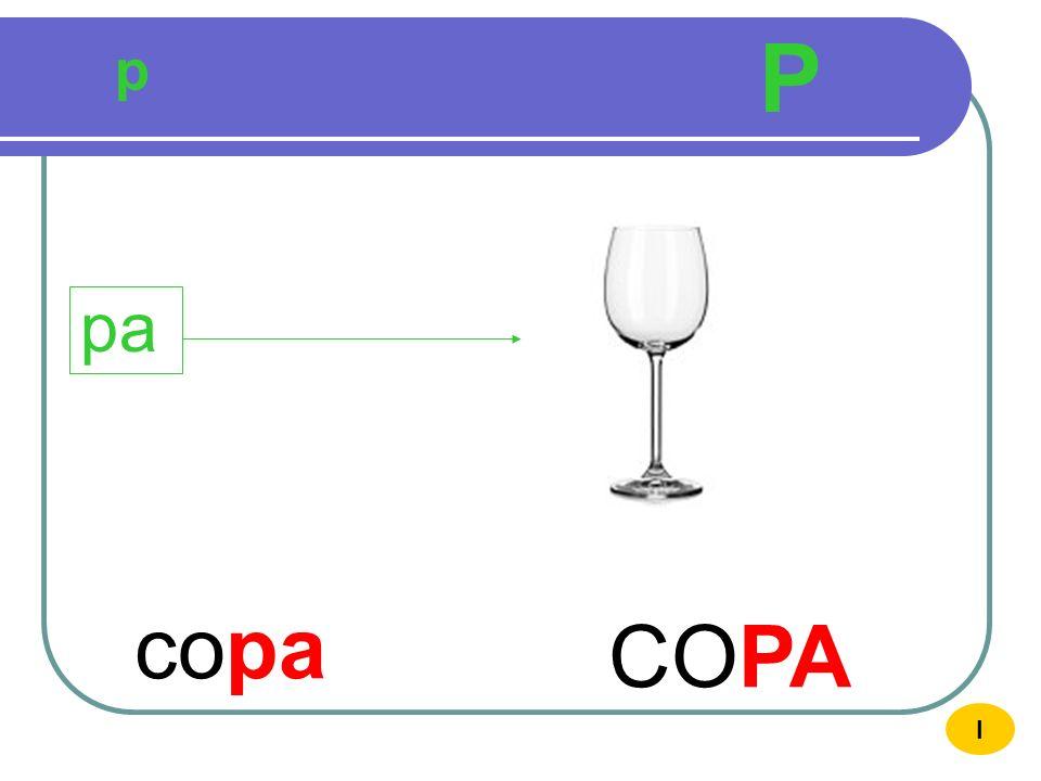 P p pa copa COPA I
