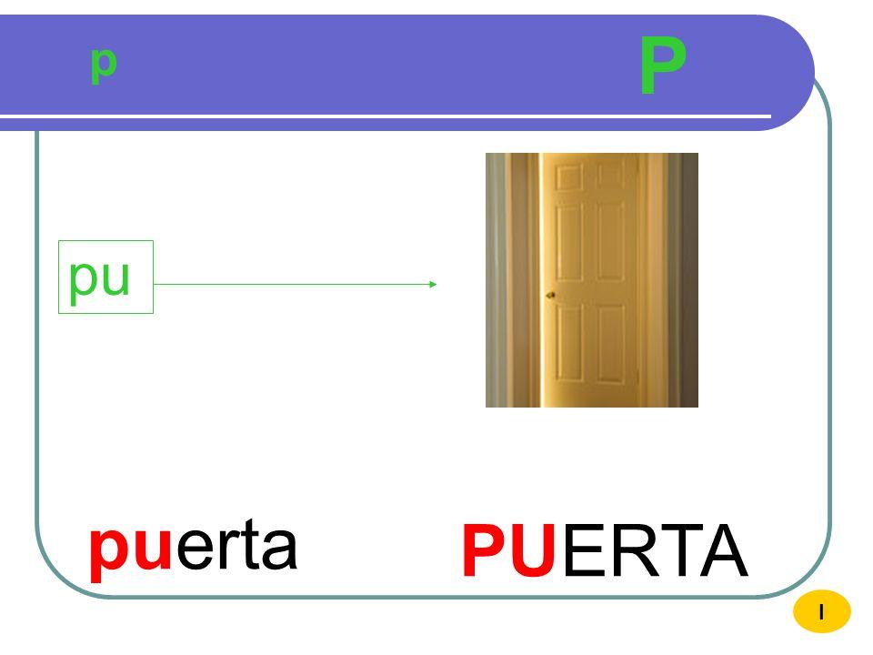 P p pu puerta PUERTA I