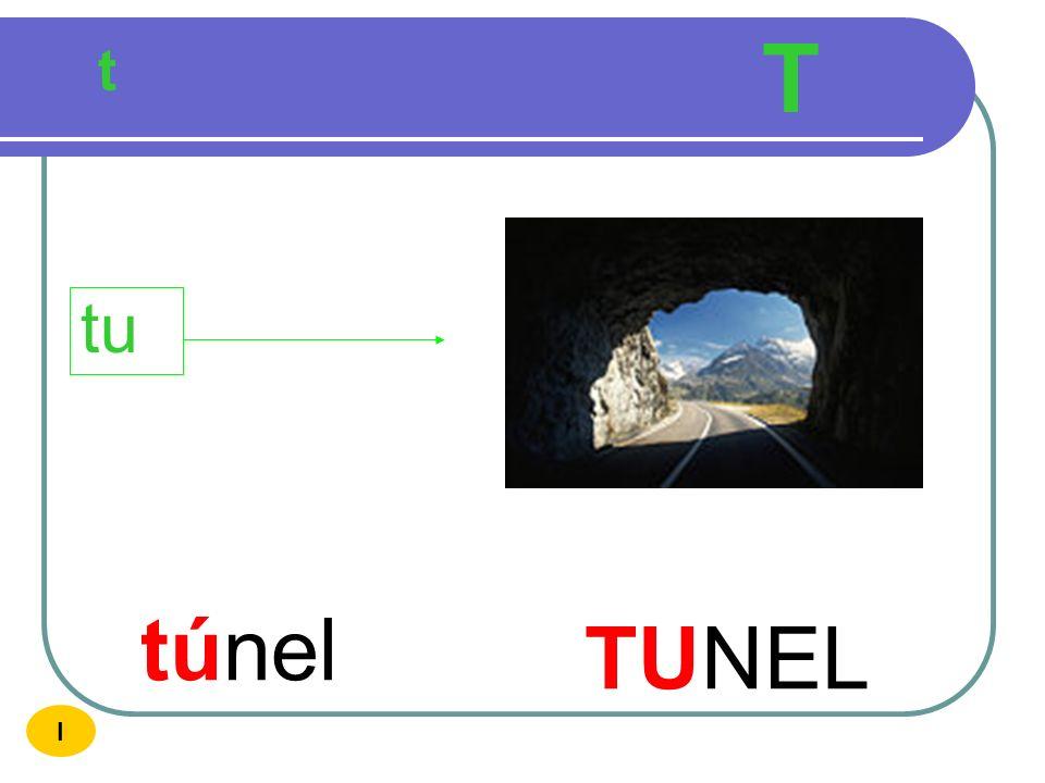 T t tu túnel TUNEL I