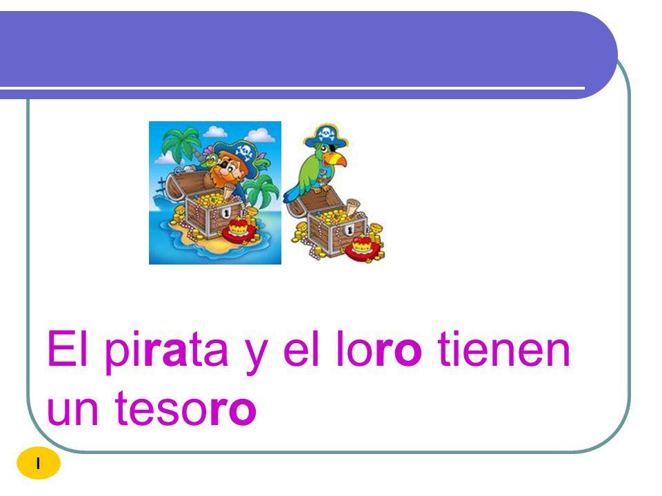 El pirata y el loro tienen un tesoro
