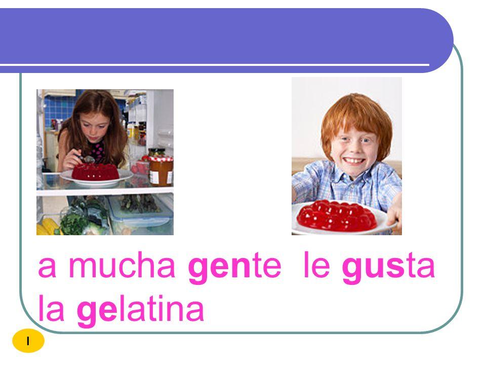 a mucha gente le gusta la gelatina