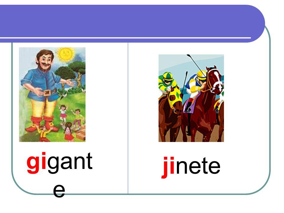 gigante jinete