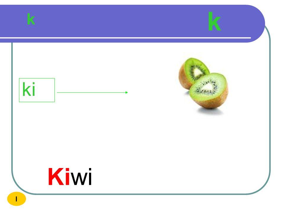 k k ki Kiwi I