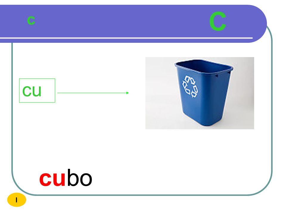 C c cu cubo I