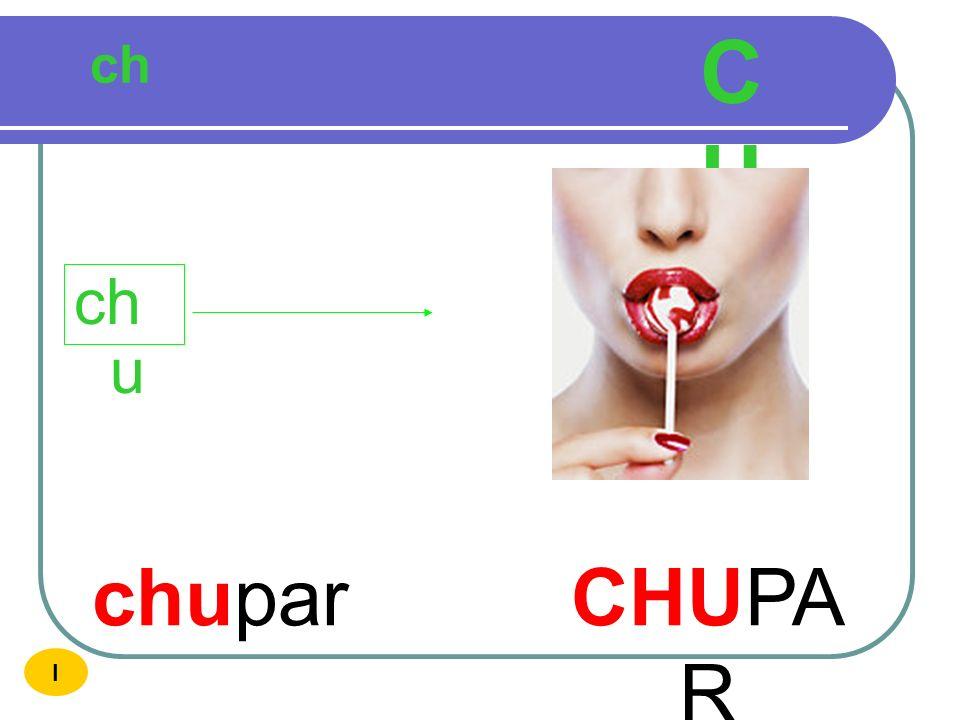 CH ch chu chupar CHUPAR I