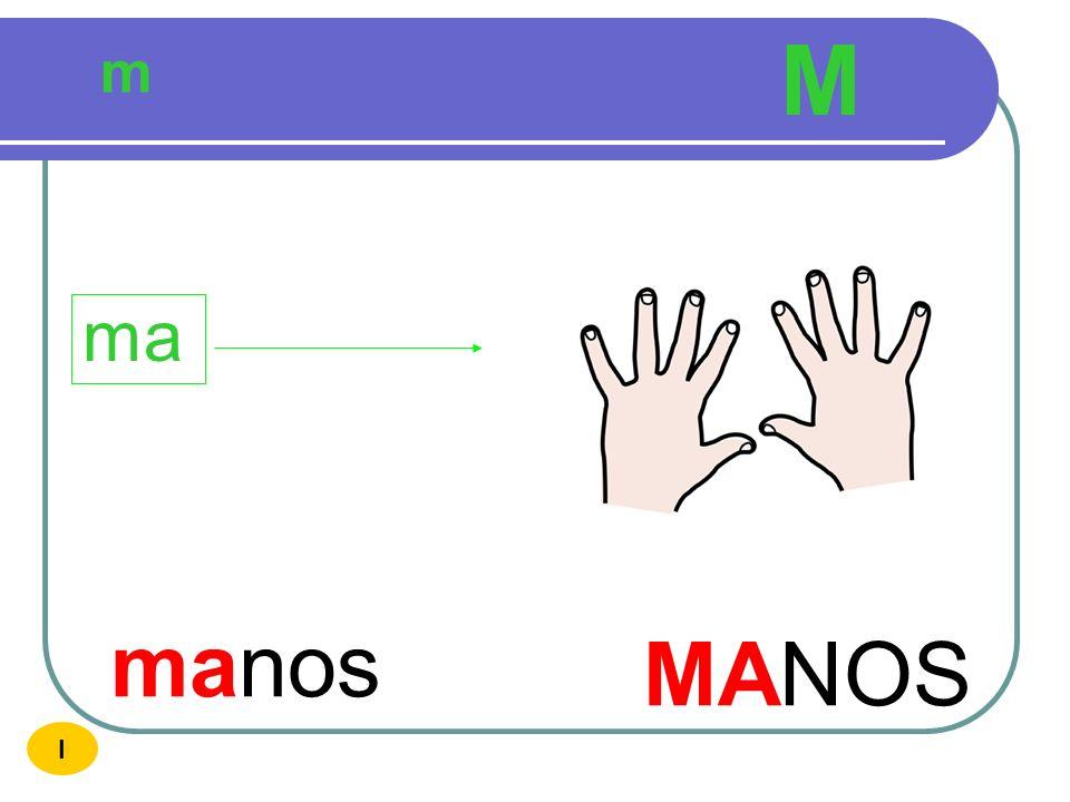 M m ma manos MANOS I