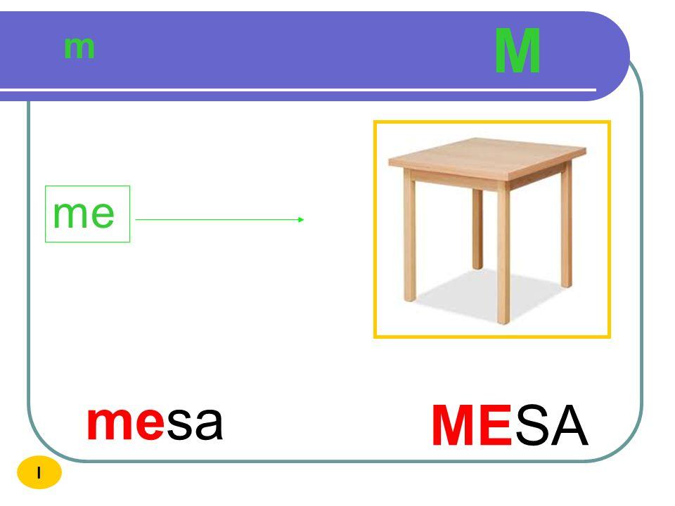 M m me mesa MESA I