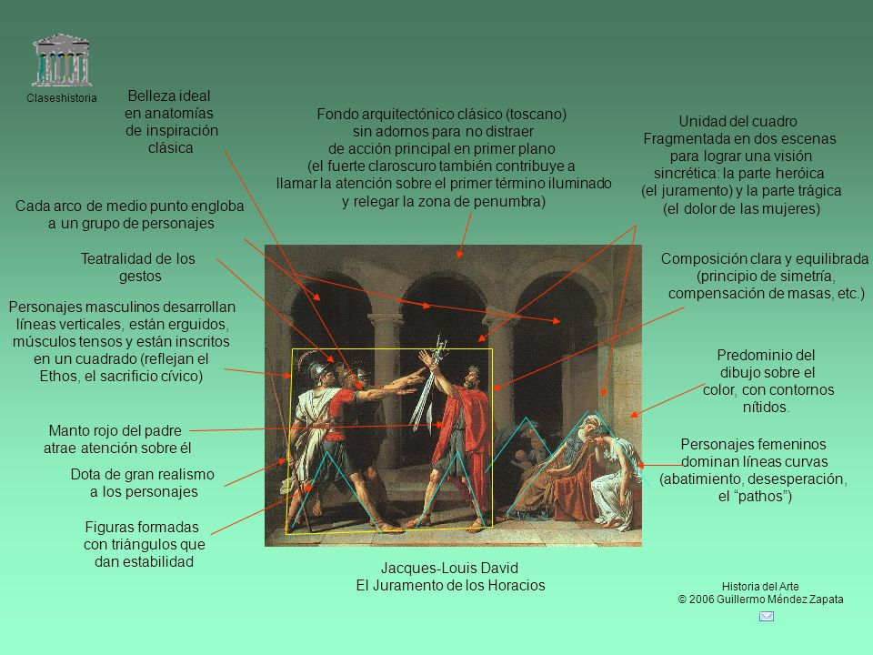 Fondo arquitectónico clásico (toscano) sin adornos para no distraer