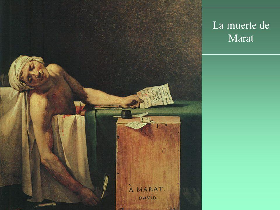 La muerte de Marat