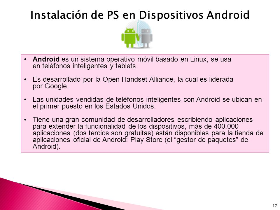 Instalación de PS en Dispositivos Android