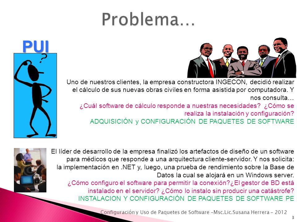 Problema… PUI.